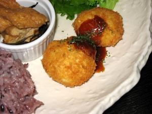 豆腐団子フライ