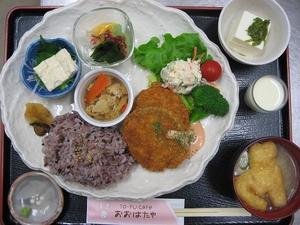 豆腐と蓮根のフライ