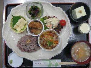 水餃子(きのこあんかけ)